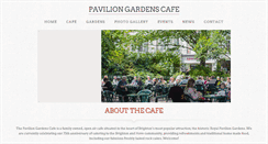 Preview of paviliongardenscafe.co.uk